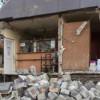 S-a prăbuşit o parte din clădirea Administraţiei cimitirelor din Cluj-Napoca