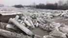 Gospodării inundate în zona Dej