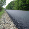 Se toarnă asfalt pe drumul judeţean 108B Viile Dejului – Bobâlna – limită cu judeţul Sălaj