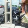 Distrusă chiar în faţa magazinului cu… piese auto