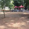 Parcul Central, făcut praf