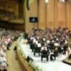 Interpreţii operei 'Oedipe', aplaudaţi la scenă deschisă, la finalul concertului de deschidere a Festivalului Enescu