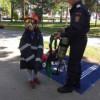 Ziua Pompierilor la Cluj. Înaintări în grad şi expoziţie cu mijloace de intervenţie