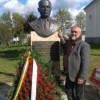 Bustul scriitorului clujean Vasile Rebreanu, dezvelit în satul său natal