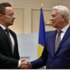 Teodor Meleșcanu se întâlnește cu omologul său ungar la Cluj-Napoca
