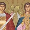 Sfinţii Arhangheli Mihail şi Gavriil, simboluri ale dreptăţii şi iubirii