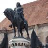 Statuia lui Matei Corvin a fost vandalizată