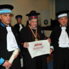 Academice. Profesorul dr. Aaron Ciechanover, laureat Nobel, Doctor Honoris Causa al U. M. F. 'Iuliu Haţieganu'