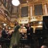 Maestrul Gabriel Bebeşelea şi pianista Alexandra Dariescu au ridicat Sala Aurie a Musikverein în picioare !
