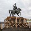 Au început demersurile pentru reabilitarea statuii ecvestre Mihai Viteazul