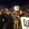 Aproximativ 7000 de persoane au protestat sâmbătă seara la Cluj-Napoca