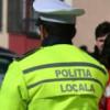 Razie a poliţiştilor locali în apropierea şcolilor