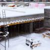 Declin în construcţii, în prima lună a anului