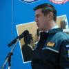 Mihai Leu a fost elev pentru o zi şi le-a oferit sfaturi de viaţă viitorilor poliţişti