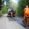 Se execută lucrări de întreţinere pe drumul judeţean 107P Gilău (DN1) – Someşu Rece – Someşu Cald – Mărişel