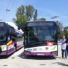 Primele autobuze electrice din România, circulă pe străzile municipiului Cluj-Napoca