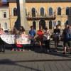 Protest împotriva deciziei CCR