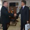 Consulul R.F. Germania la Sibiu, în vizită la Consiliul Judeţean Cluj