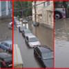O ploaie torenţială a făcut ravagii în Cluj-Napoca
