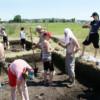 Practică arheologică în castrul de la Potaissa