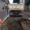 Avarie de amploare la o conductă de apă de pe strada Clinicilor