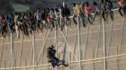 Au luat cu asalt gardul ce înconjoară enclava Ceuta