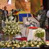 Sute de oameni la slujba de înmormântare a taragotistului Dumitru Fărcaş