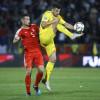 Fotbal / România – salvată de un jucător al CFR-ului