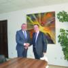 Noul ambasador al Marii Britanii în România, în vizită la Cluj-Napoca