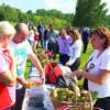 Pentru Centenar. Sătenii din Dealu Negru au gătit ciuperci după o reţetă de 100 de ani
