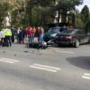 Motociclist rănit într-un accident în Cluj-Napoca