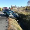 Accident grav la Huedin