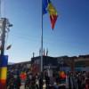Drapelul României flutură deasupra Floreștiului