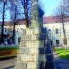 Atentat la Monumentul lui Avram Iancu din Huedin