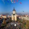 Atmosferă specială la Cluj-Napoca la 100 de ani de la Marea Unire