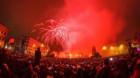 La mulți ani 2019! Mii de clujeni au întâmpinat noul an în centrul orașului