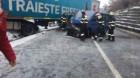 Trafic rutier şi feroviar oprit între Huedin şi Oradea, din cauza unui accident