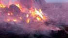 Incendiu în Valea Florilor