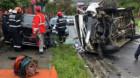 Accident rutier pe strada Spicului