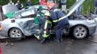 Accident cu doi răniţi în Cluj-Napoca