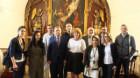 Ambasadorul Armeniei la Bucureşti, în vizită la Gherla