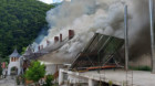 Incendiu la Mânăstirea Râmeț