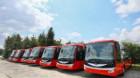 Cele şapte autobuze electrice vor fi prezentate turdenilor