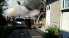 Week-end cu incendiu şi explozie