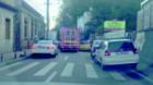 Mașină SMURD în misiune, blocată în trafic