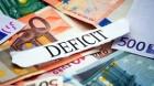 Anul se încheie cu un deficit bugetar de peste 3%