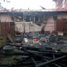 Incendiu pe strada Timișului, din Cluj-Napoca
