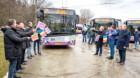 Troleibuze noi pe străzile din Cluj-Napoca