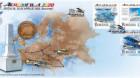 Timbre dedicate primei companii aeriene transcontinentale