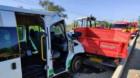 Accident grav la Jucu Herghelie